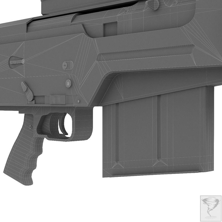 AS50 Precisión Internacional royalty-free modelo 3d - Preview no. 34