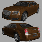 克莱斯勒300C 2013 3d model