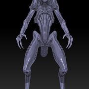 """""""Alien"""" style Creature(1) 3d model"""