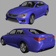 Toyota MarkX 2013 3d model
