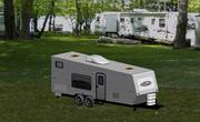 Travel Trailer 3d model