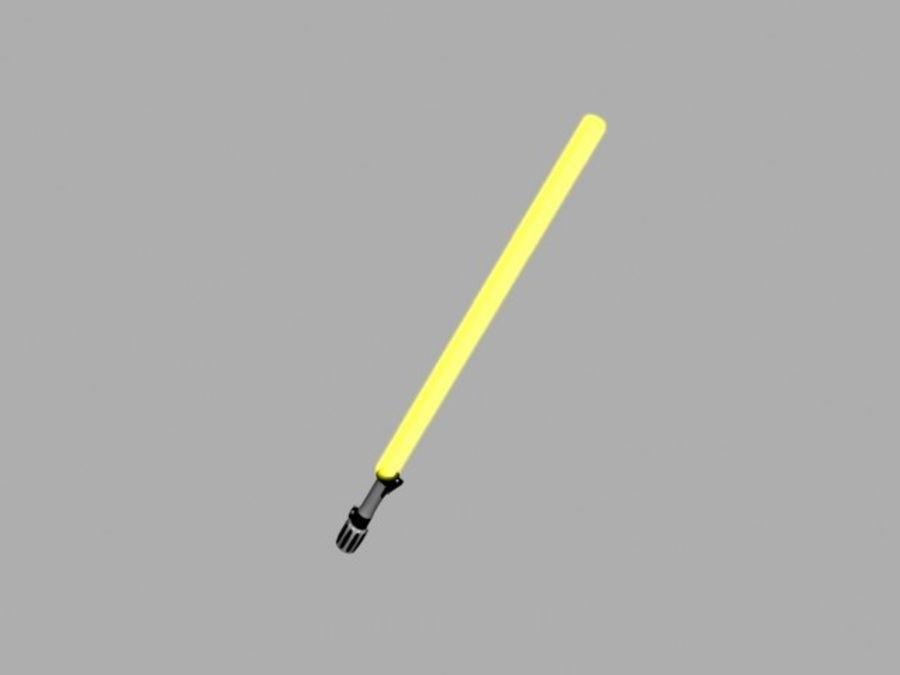 ライトセーバー 黄色い