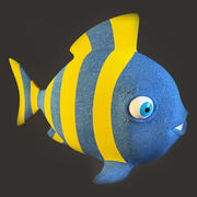 Fish Toy 3d model