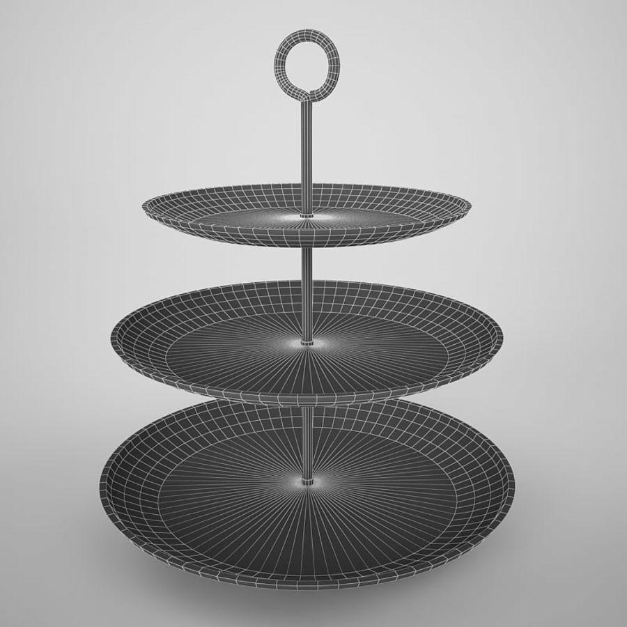 Serving Platter royalty-free 3d model - Preview no. 5