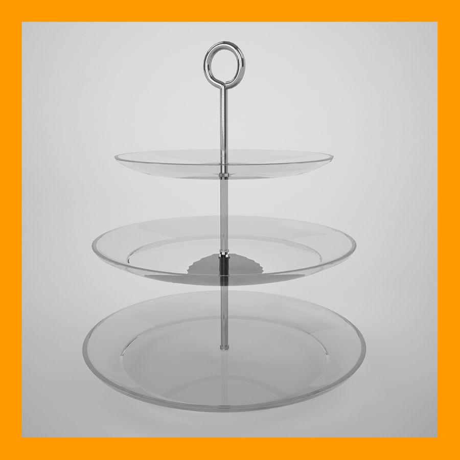 Serving Platter royalty-free 3d model - Preview no. 1