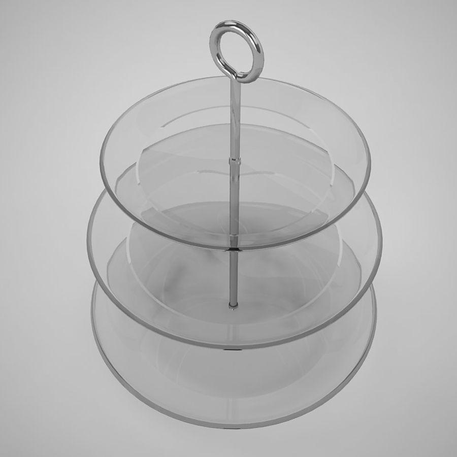 Serving Platter royalty-free 3d model - Preview no. 3