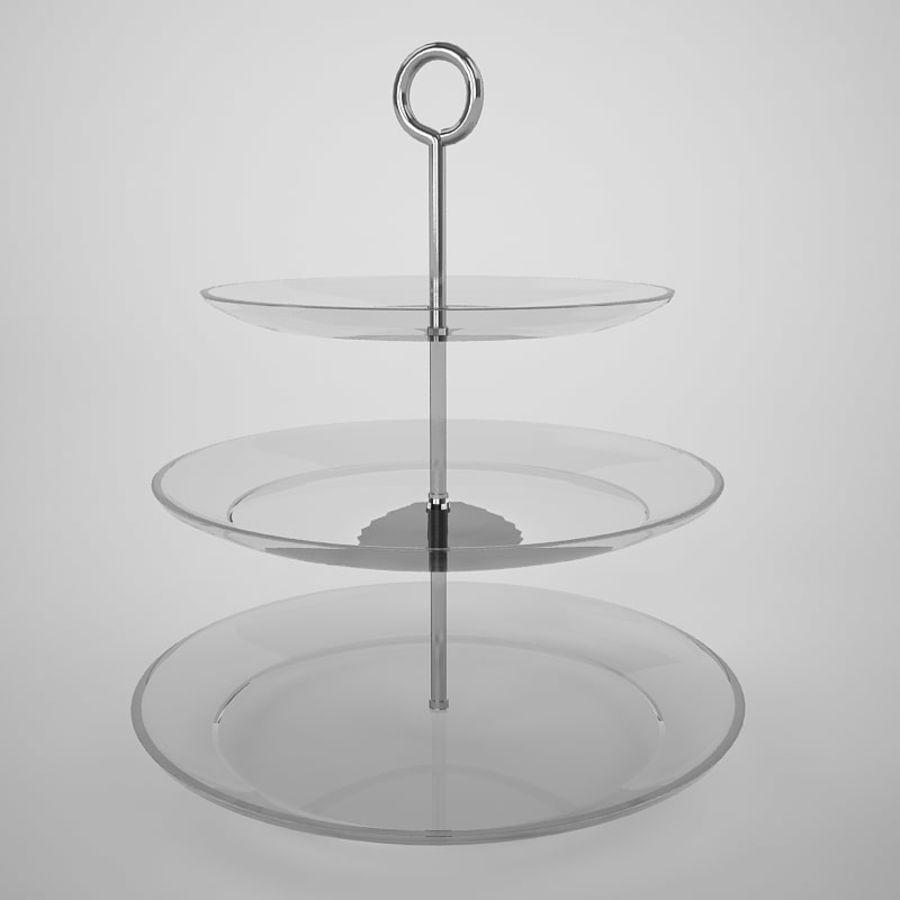 Serving Platter royalty-free 3d model - Preview no. 2