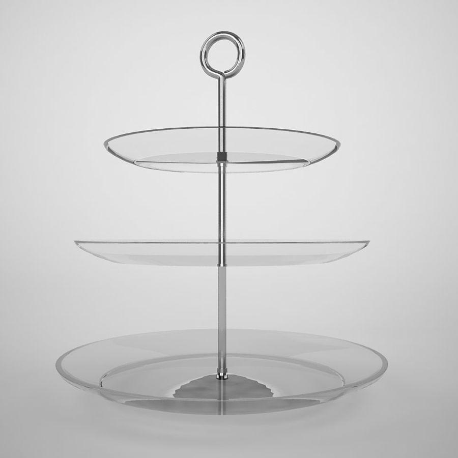 Serving Platter royalty-free 3d model - Preview no. 4