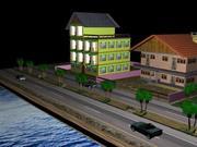 Small City 3d model