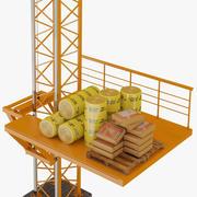 Lifting machine 3d model