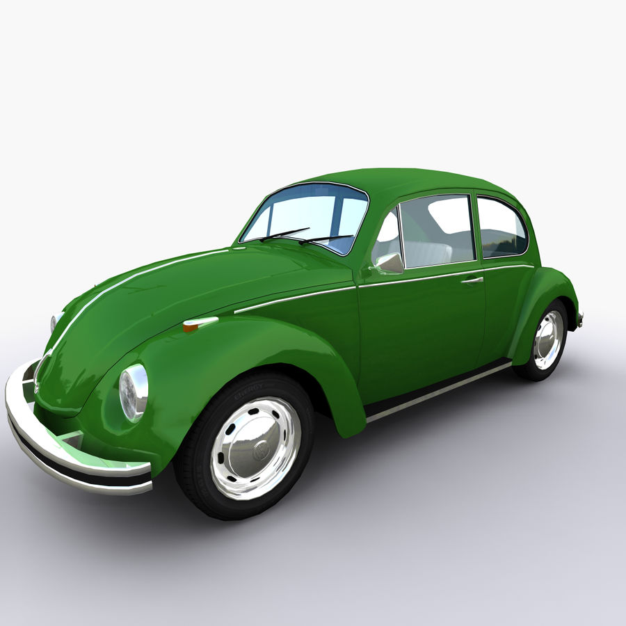 VW Beetle 1302 royalty-free 3d model - Preview no. 1