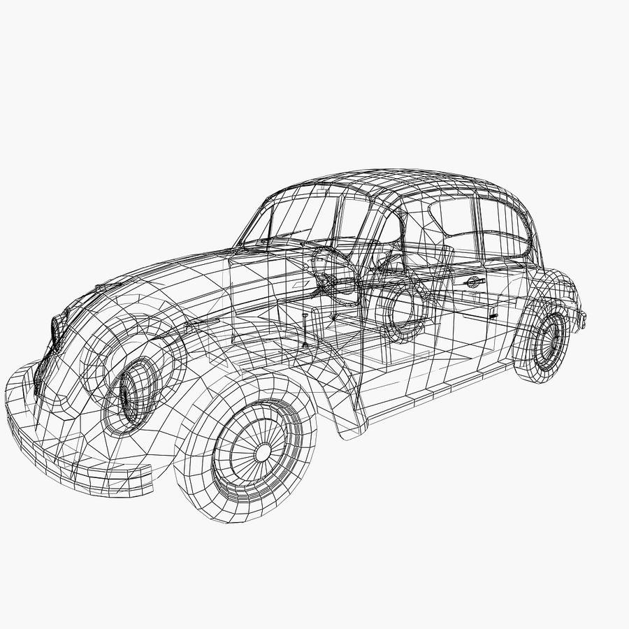 VW Beetle 1302 royalty-free 3d model - Preview no. 6