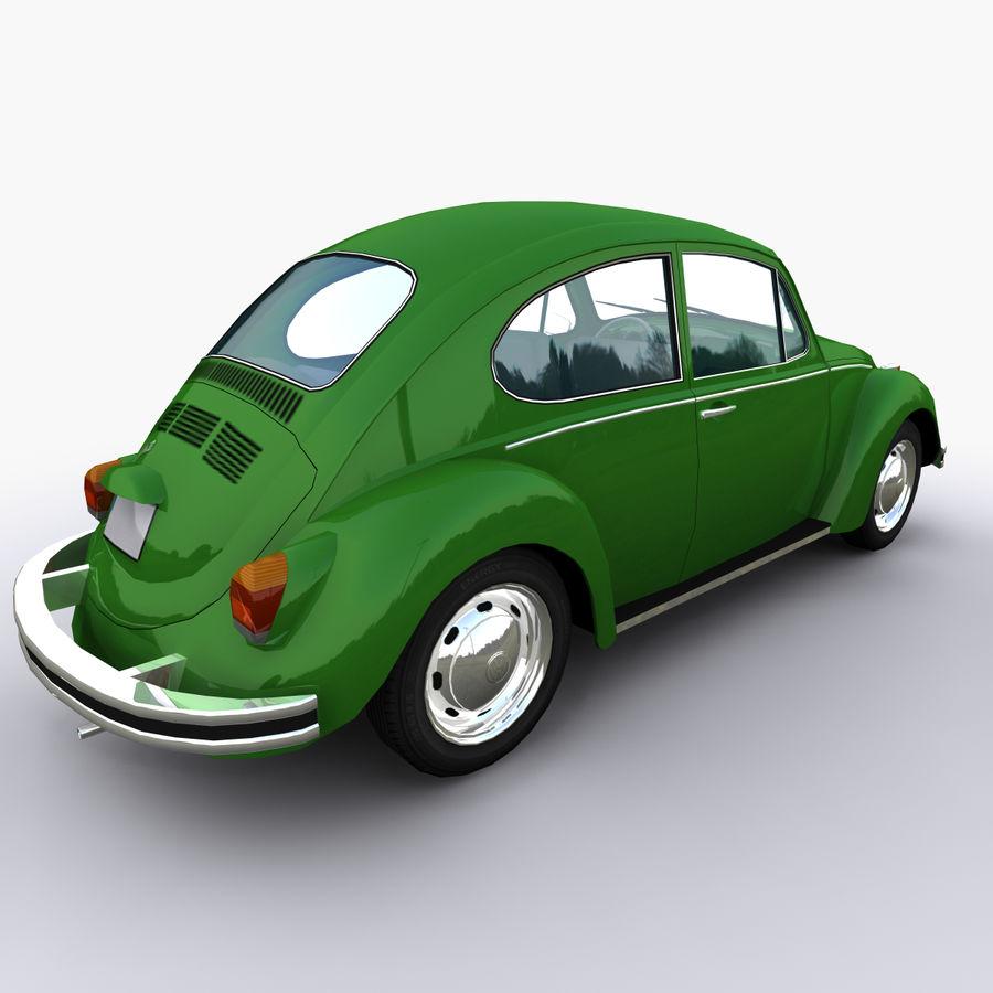 VW Beetle 1302 royalty-free 3d model - Preview no. 2
