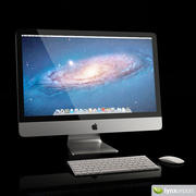 Apple iMac Computer 3d model