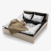 IKEA MALM Bett 3d model