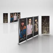 Affichage des publicités 3d model