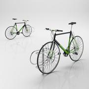 自転車ラック 3d model