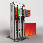 Fuel dispenser 3d model
