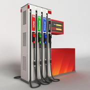 Distributeur de carburant 3d model