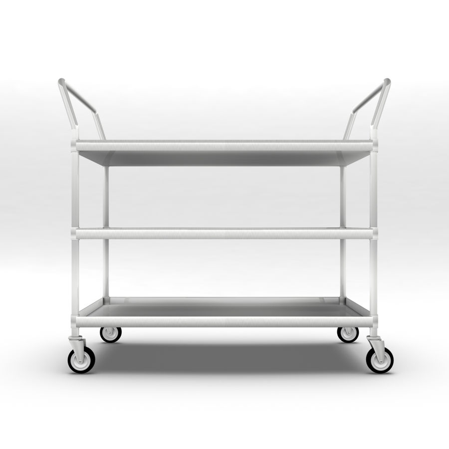 Hospital Cart royalty-free 3d model - Preview no. 7