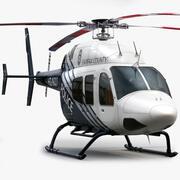 Bell 429 Police 3d model
