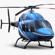 Bell 429 Blue 3d model
