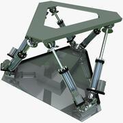 E2M 6-Axis Platform 3d model