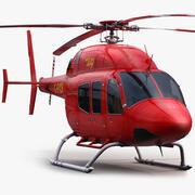 Bell 429 Red 3d model