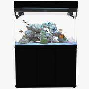 Marine Aquarium 02 3d model