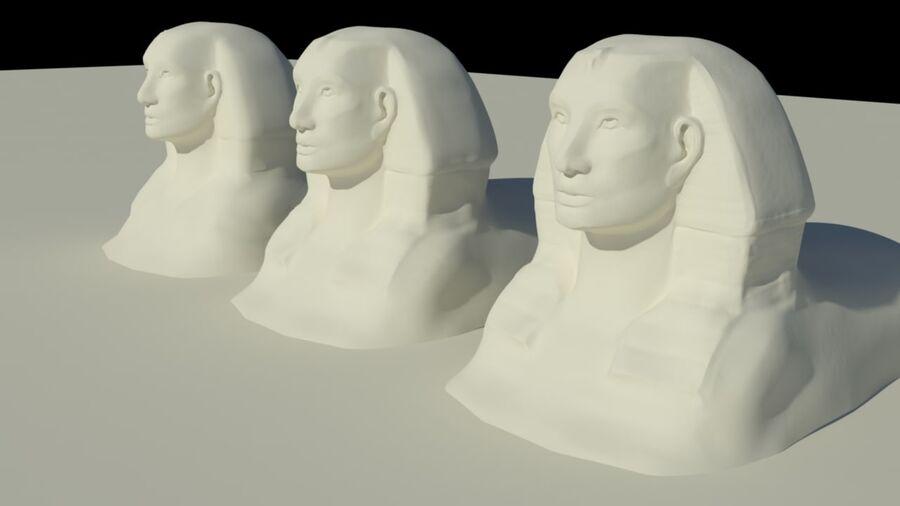 Khufu royalty-free 3d model - Preview no. 7