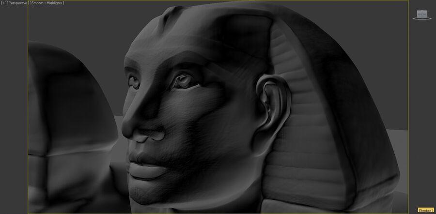 Khufu royalty-free 3d model - Preview no. 2