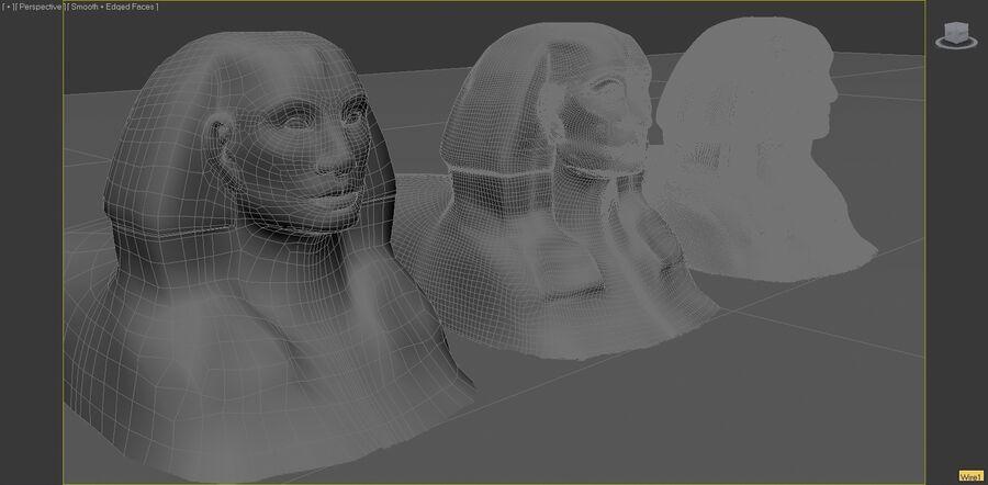 Khufu royalty-free 3d model - Preview no. 3