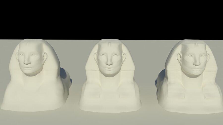 Khufu royalty-free 3d model - Preview no. 5