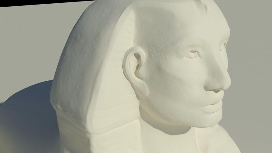 Khufu royalty-free 3d model - Preview no. 4