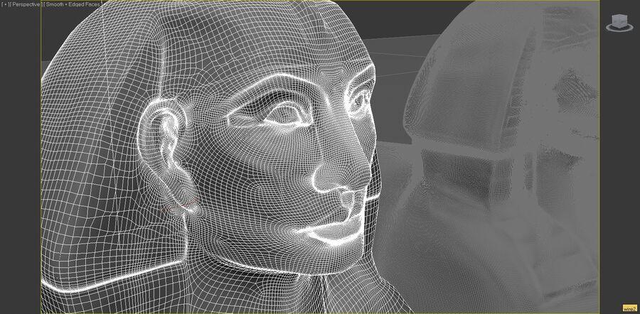 Khufu royalty-free 3d model - Preview no. 1