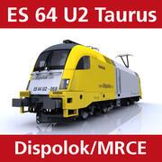 ES 64 U2 Dispolok 3d model