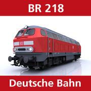 BR 218 3d model