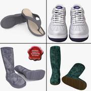 Men Shoes Collection V13 3d model