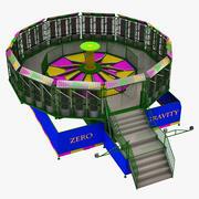 무중력 라이드 3d model