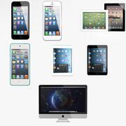 苹果系列 3d model