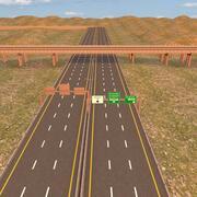 Autoroute 3d model