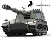VCA-155mm Palmaria 3d model