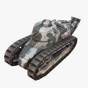 ルノーFT17 3d model