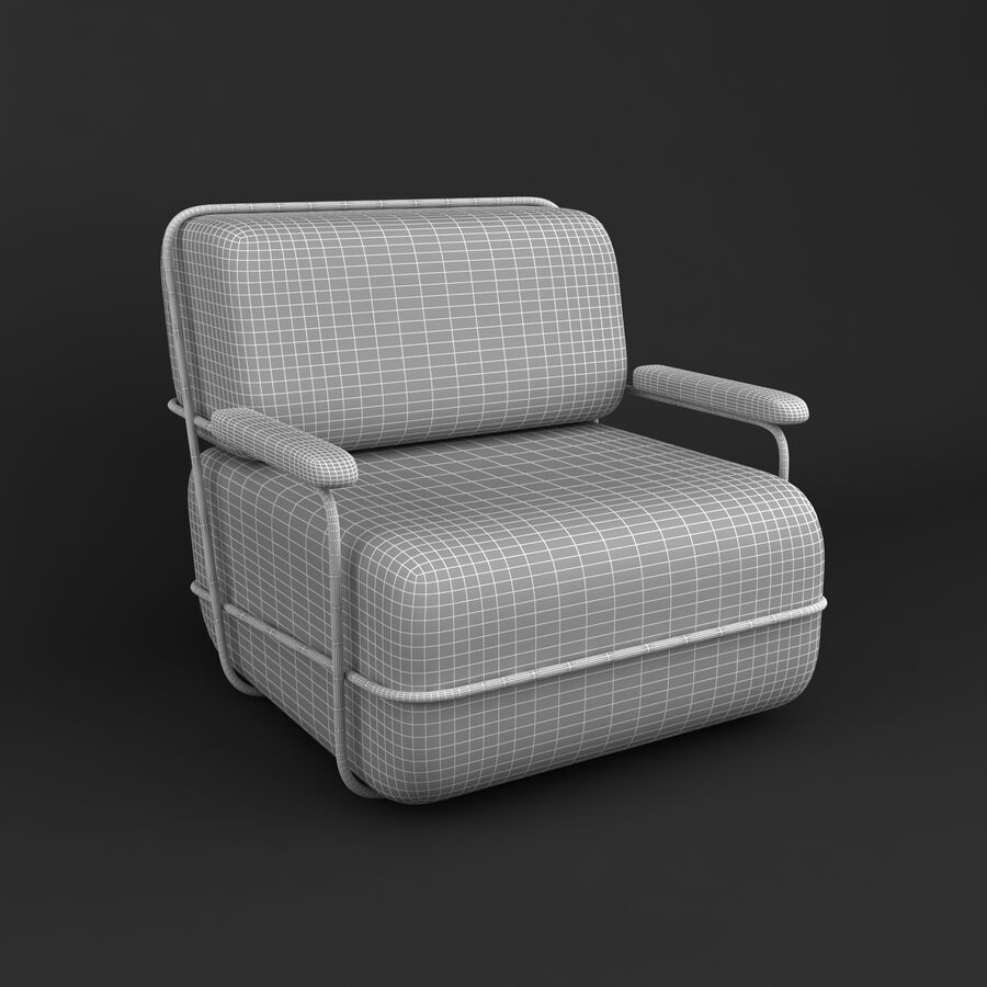 Collection de meubles royalty-free 3d model - Preview no. 43