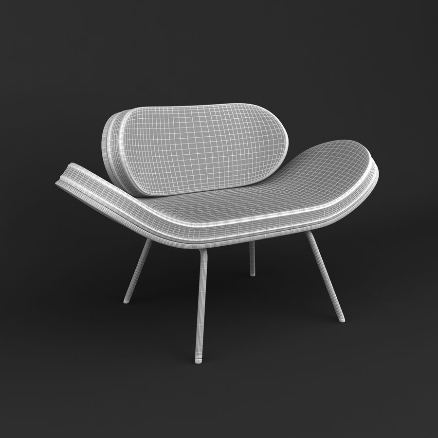 Collection de meubles royalty-free 3d model - Preview no. 47