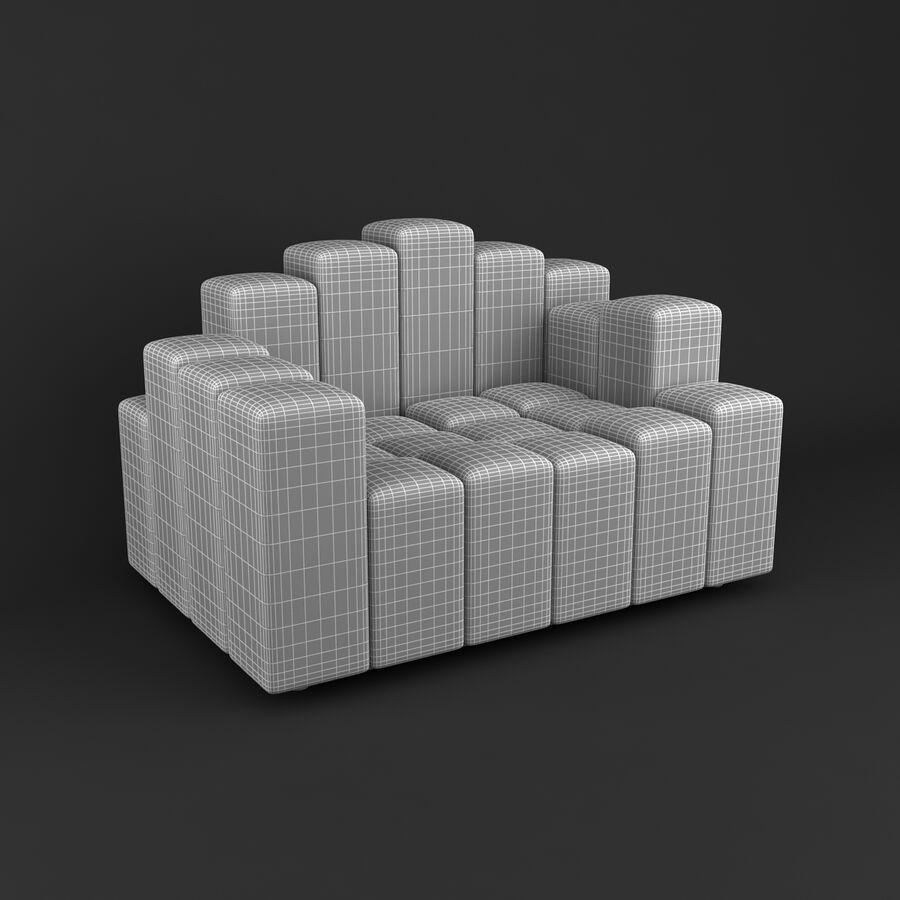 Collection de meubles royalty-free 3d model - Preview no. 50