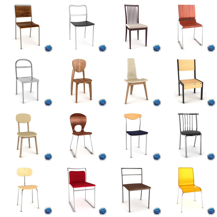 Collection de meubles royalty-free 3d model - Preview no. 4