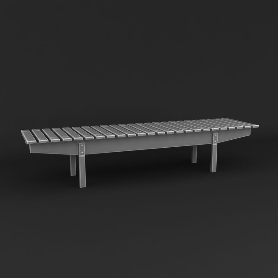 Collection de meubles royalty-free 3d model - Preview no. 90