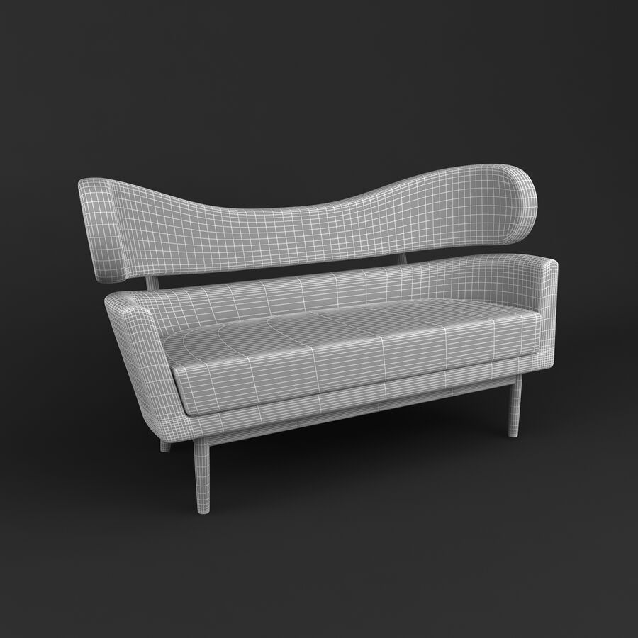Collection de meubles royalty-free 3d model - Preview no. 183