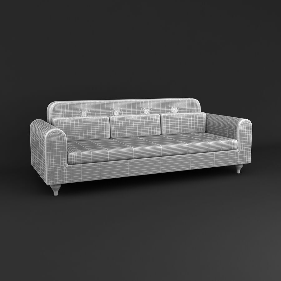 Collection de meubles royalty-free 3d model - Preview no. 198